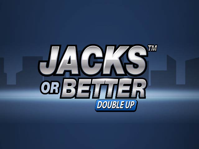 Видео покер Jacks or Better Double Up